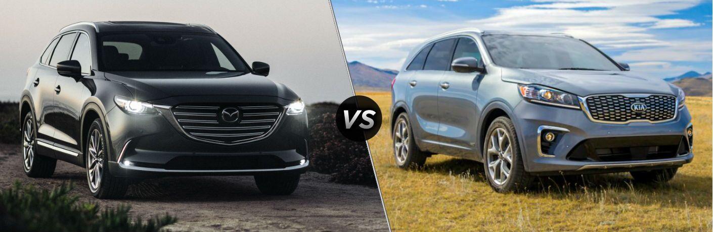 2020 Mazda CX-9 vs 2020 Kia Sorento