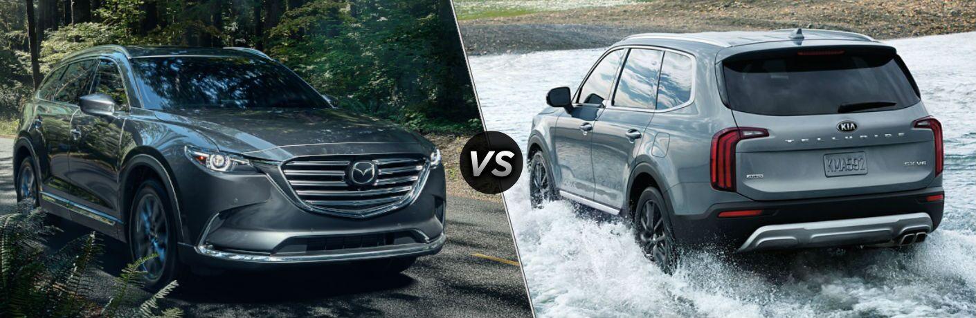 2020 Mazda CX-9 vs 2020 Kia Telluride