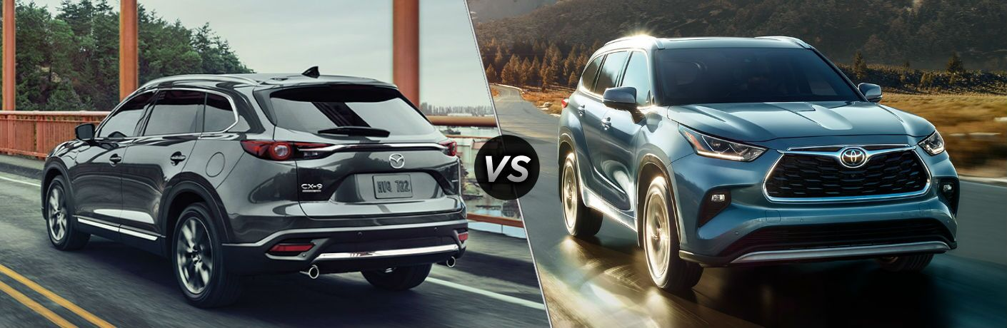 2020 Mazda CX-9 vs 2020 Toyota Highlander