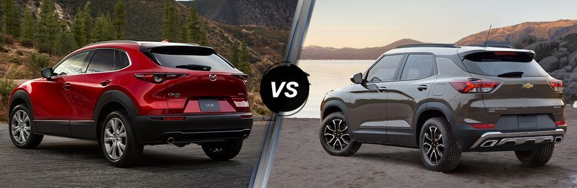 2020 Mazda CX-30 vs 2021 Chevrolet Trailblazer