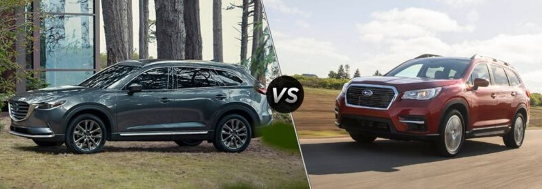 2020 Mazda CX-9 vs 2020 Subaru Ascent