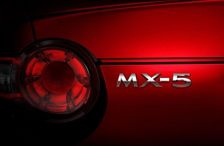 2020 Mazda MX-5 Miata badging