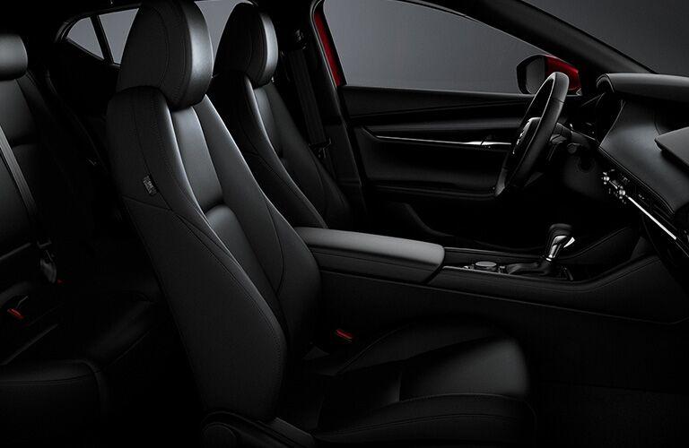 2020 Mazda3 Hatchback front seats