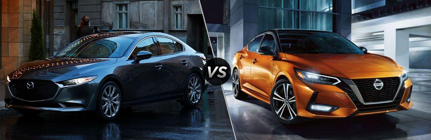 2020 Mazda3 vs 2020 Nissan Sentra
