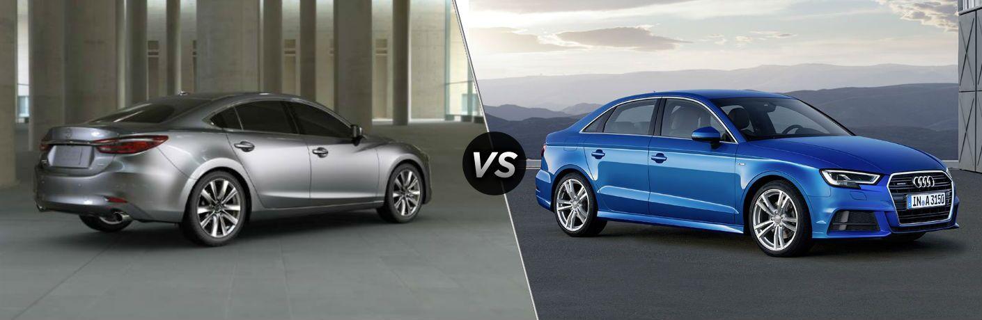 2020 Mazda6 vs 2020 Audi A3