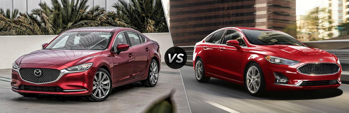 2020 Mazda6 vs 2020 Ford Fusion