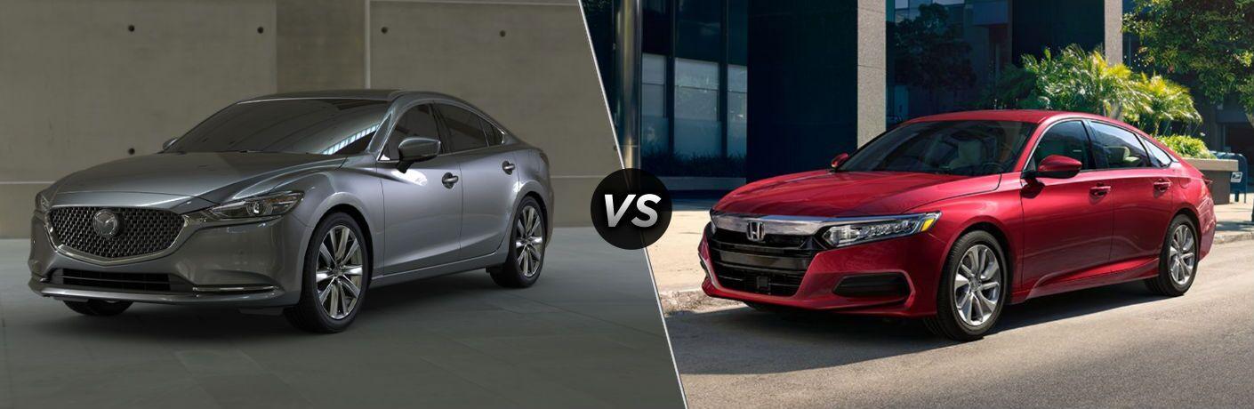 2020 Mazda6 vs 2020 Honda Accord