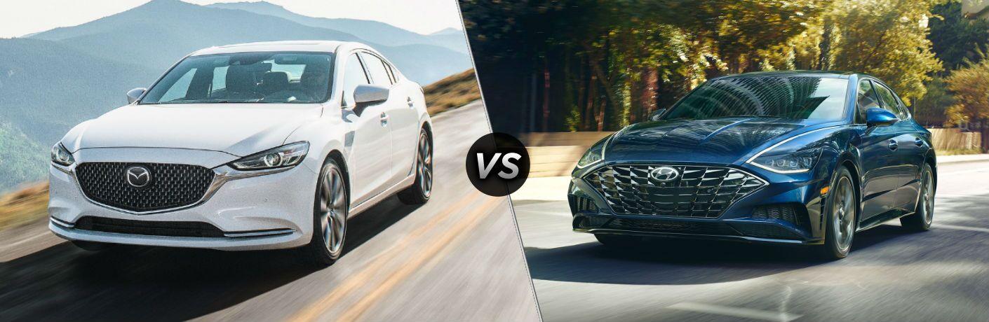 2020 Mazda6 vs 2020 Hyundai Sonata