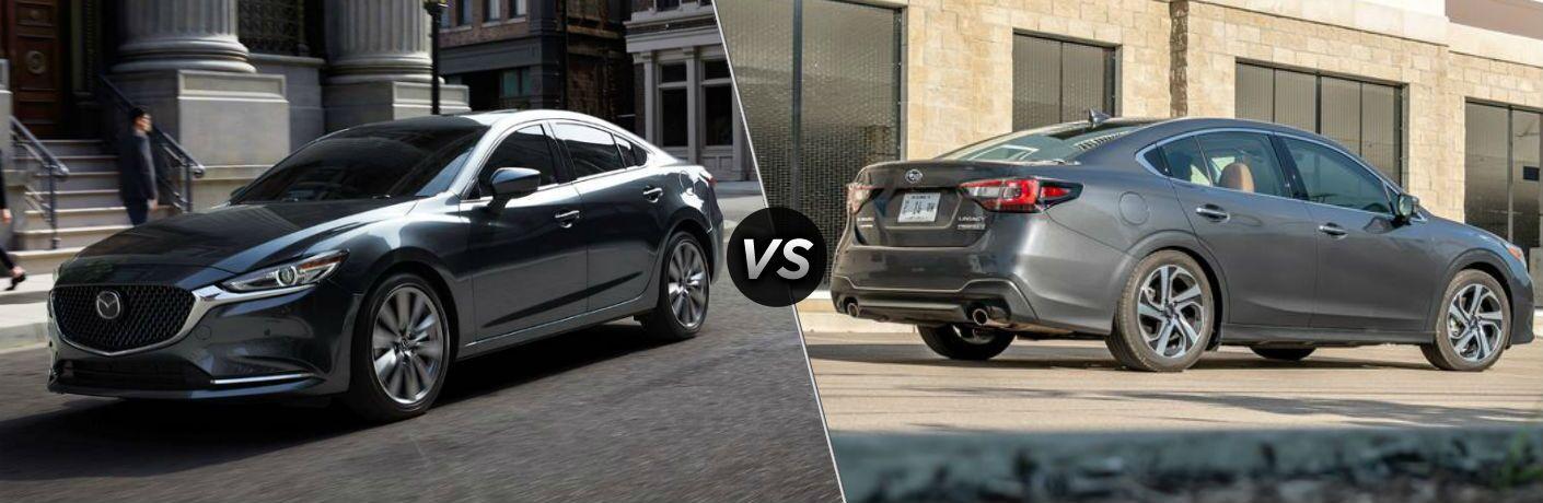 2020 Mazda6 vs 2020 Subaru Legacy