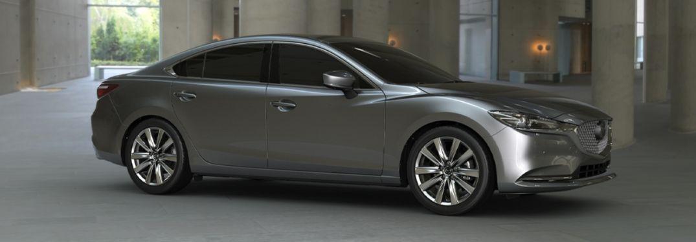 2020 Mazda6 in modern parking structure