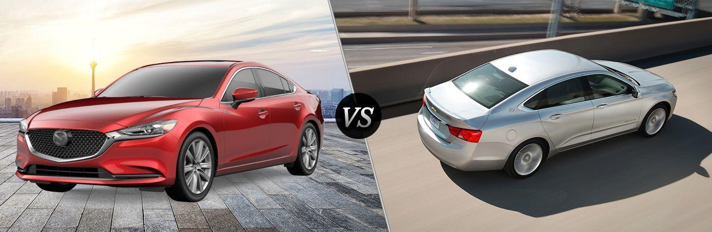2020 Mazda6 vs 2020 Chevy Impala