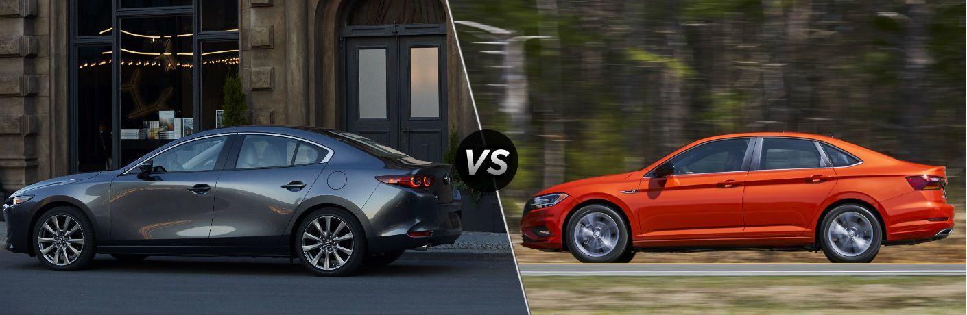 2020 Mazda3 vs 2020 Volkswagen Jetta