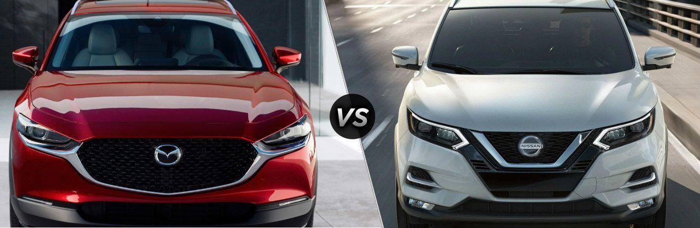 2020 Mazda CX-30 vs 2020 Nissan Rogue Sport