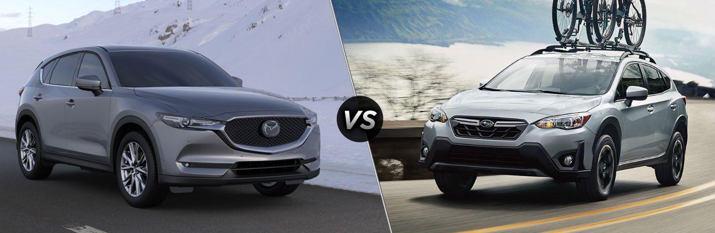 2020 Mazda CX-5 vs 2020 Subaru Crosstrek
