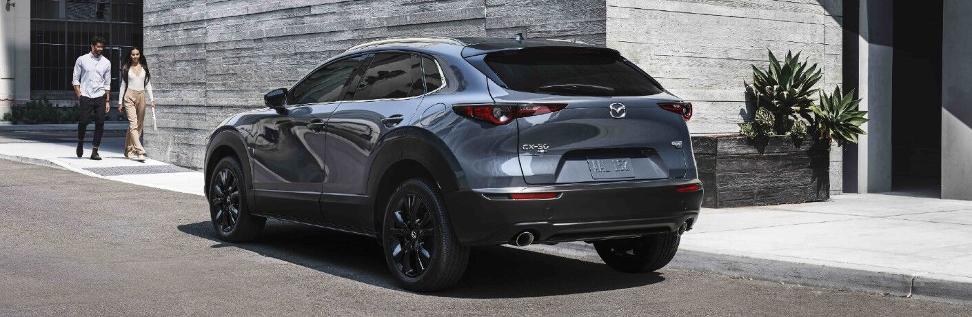 2021 Mazda CX-30 2.5 Turbo on city street