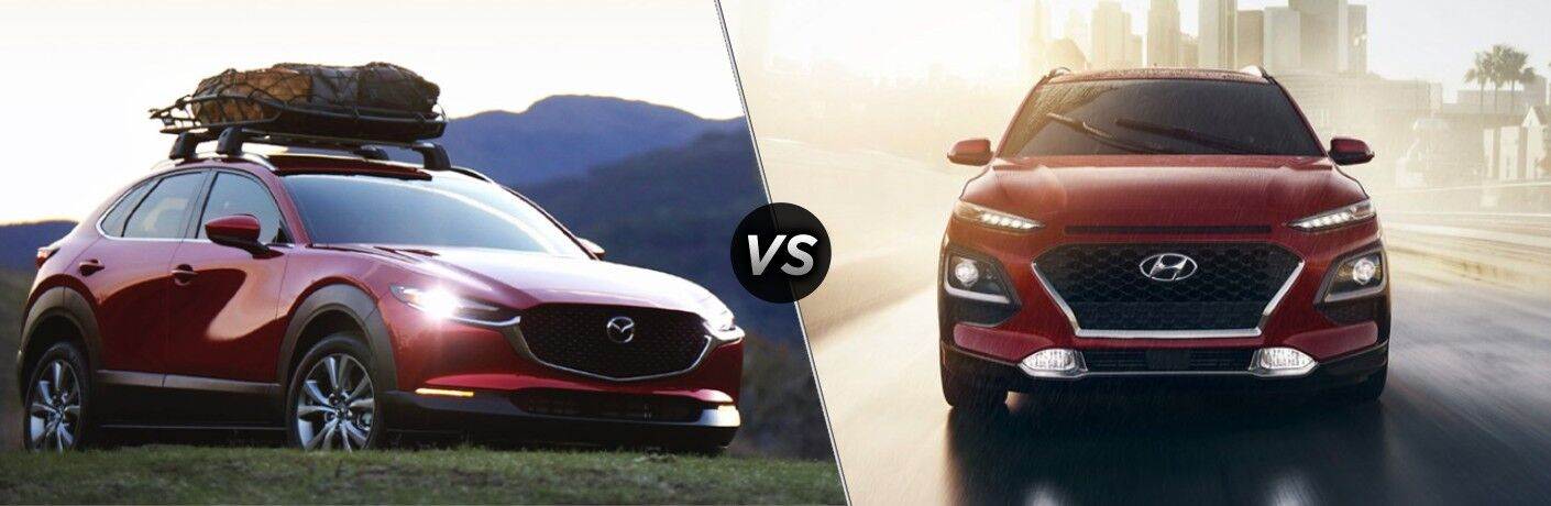 2021 Mazda CX-30 vs 2021 Hyundai Kona