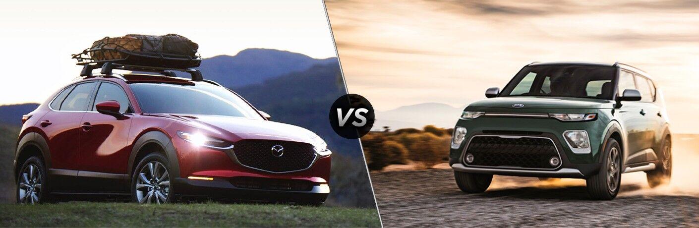 2021 Mazda CX-30 vs 2021 Kia Soul