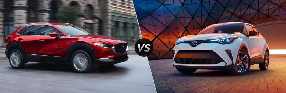 2021 Mazda CX-30 vs 2021 Toyota C-HR