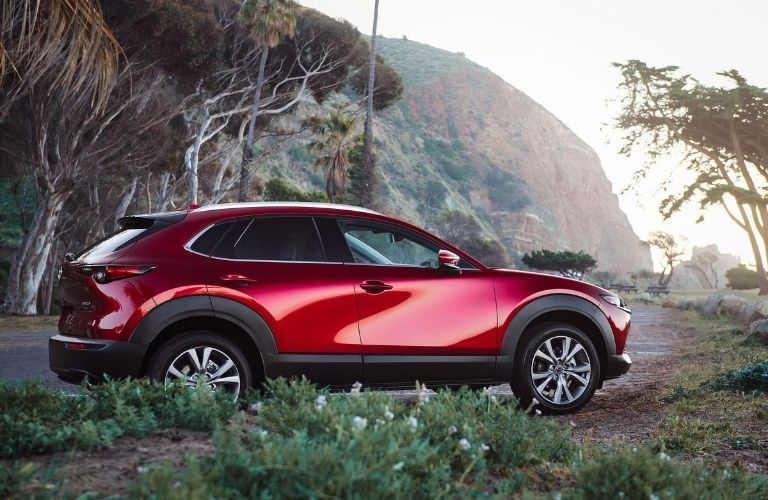 2021 Mazda CX-30 in scenic wilderness