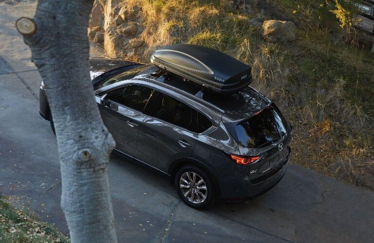 2021 Mazda CX-5 viewed from above