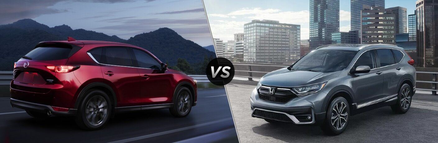 2021 Mazda CX-5 vs 2021 Honda CR-V