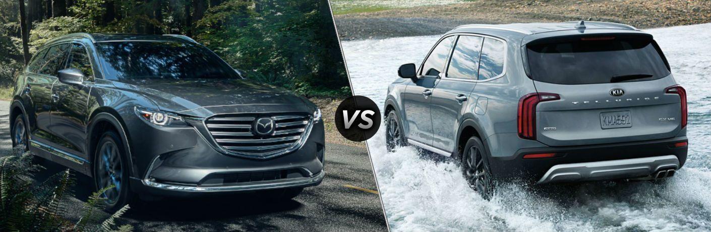 2021 Mazda CX-9 vs 2021 Kia Telluride
