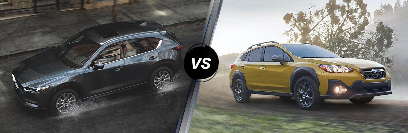 2021 Mazda CX-5 vs 2021 Subaru Crosstrek