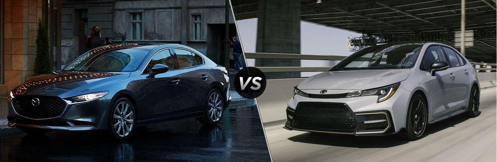 2021 Mazda3 vs 2021 Toyota Corolla