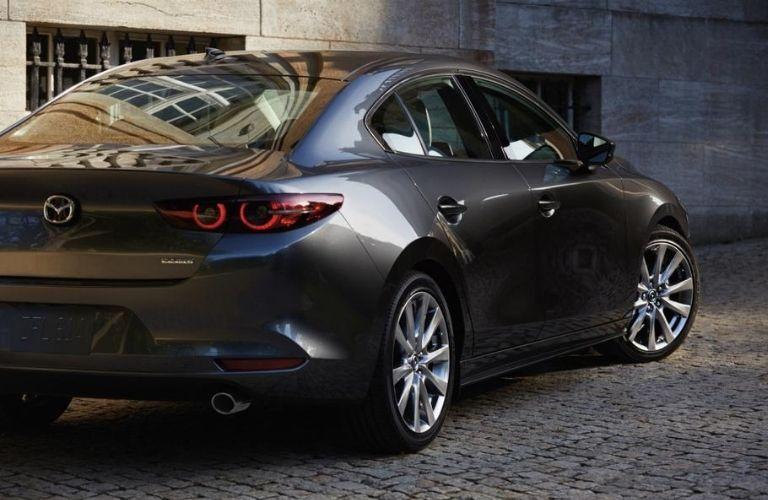 2021 Mazda3 sedan exterior styling