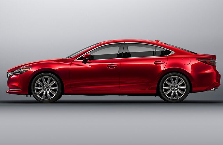 2021 Mazda6 side profile