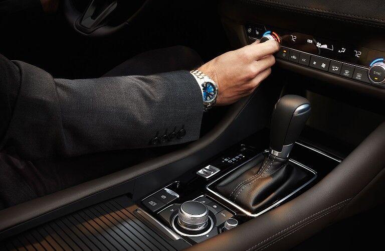 2021 Mazda6 center console