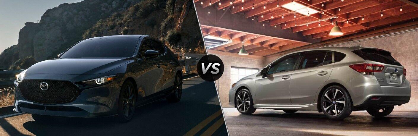 2021 Mazda3 vs 2021 Subaru Impreza