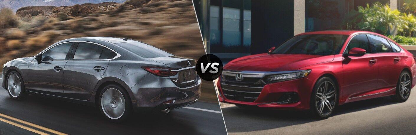 2021 Mazda6 vs 2021 Honda Accord