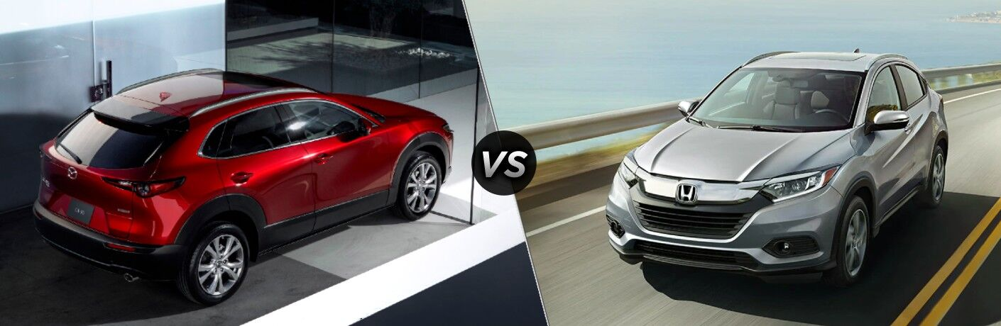 2021 Mazda CX-30 vs 2021 Honda HR-V