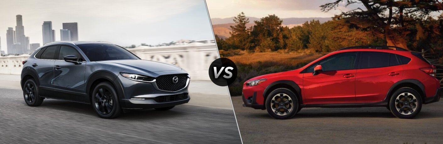 2021 Mazda CX-30 vs 2021 Subaru Crosstrek