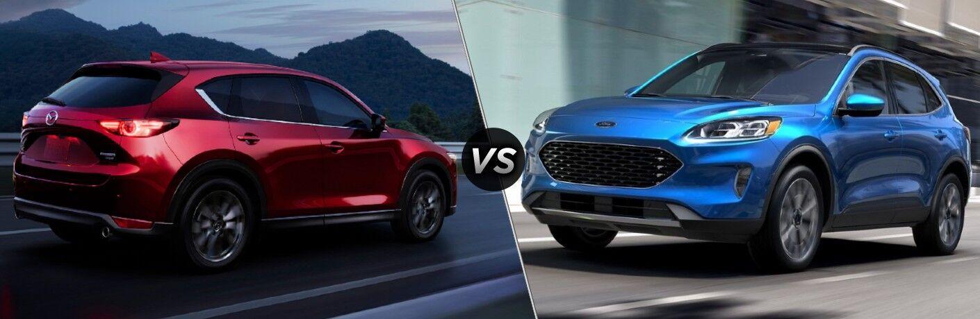 2021 Mazda CX-5 vs 2021 Ford Escape