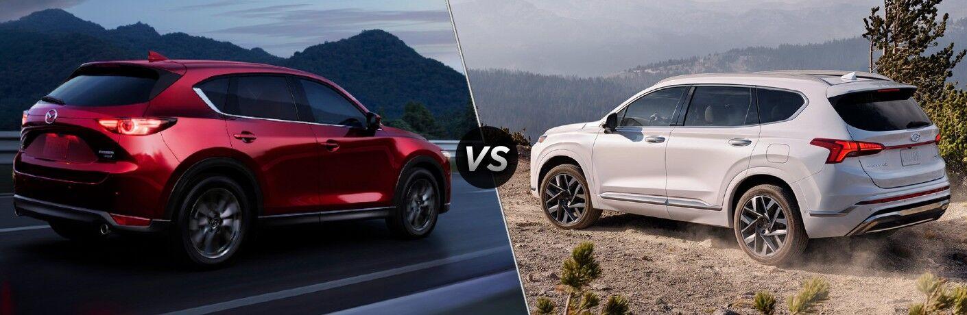 2021 Mazda CX-5 vs 2021 Hyundai Santa Fe
