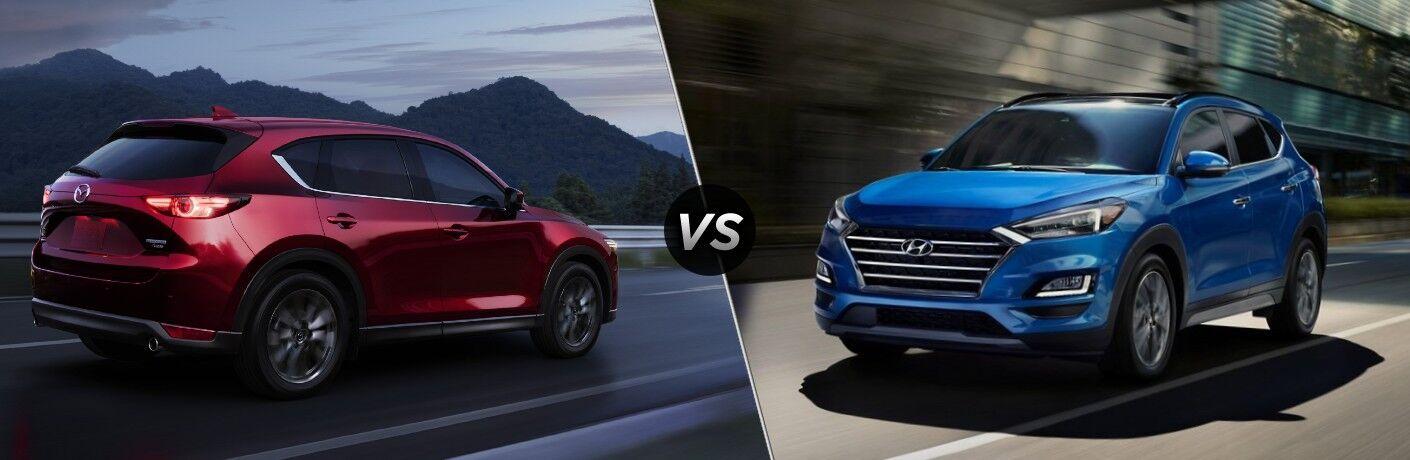 2021 Mazda CX-5 vs 2021 Hyundai Tucson