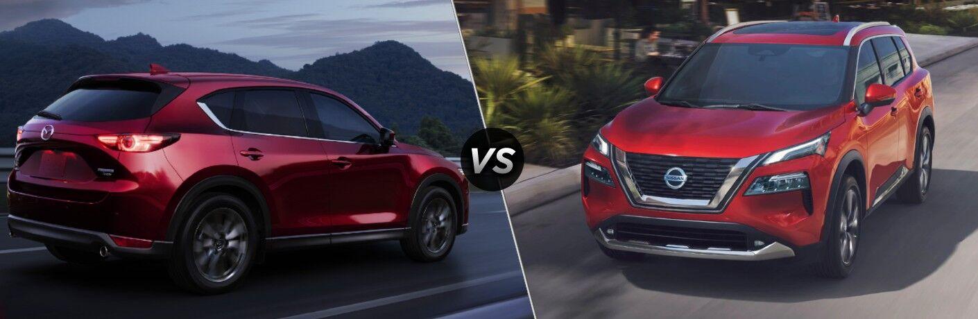 2021 Mazda CX-5 vs 2021 Nissan Rogue