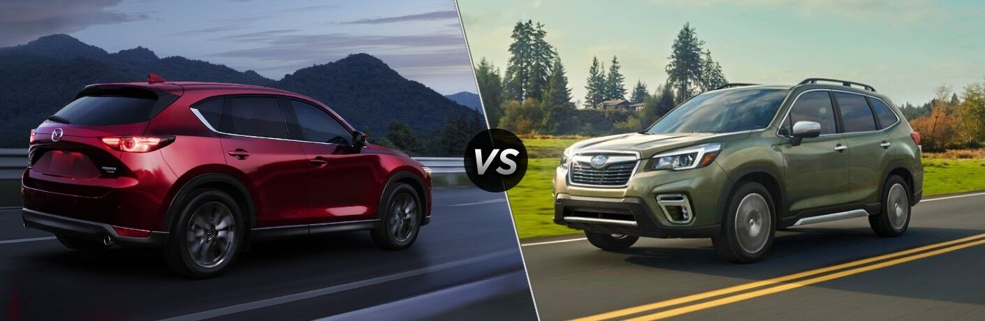 2021 Mazda CX-5 vs 2021 Subaru Forester