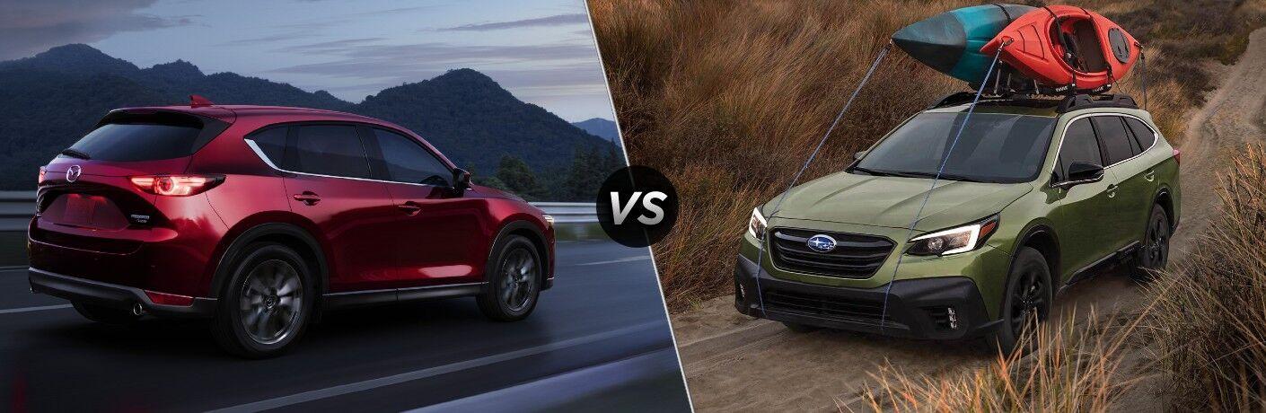 2021 Mazda CX-5 vs 2021 Subaru Outback