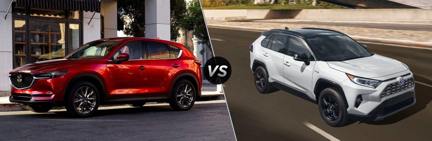 2021 Mazda CX-5 vs 2021 Toyota RAV4
