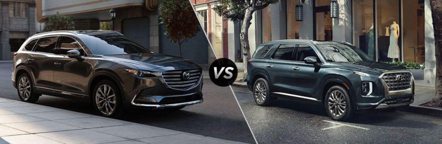 2021 Mazda CX-9 vs 2021 Hyundai Palisade