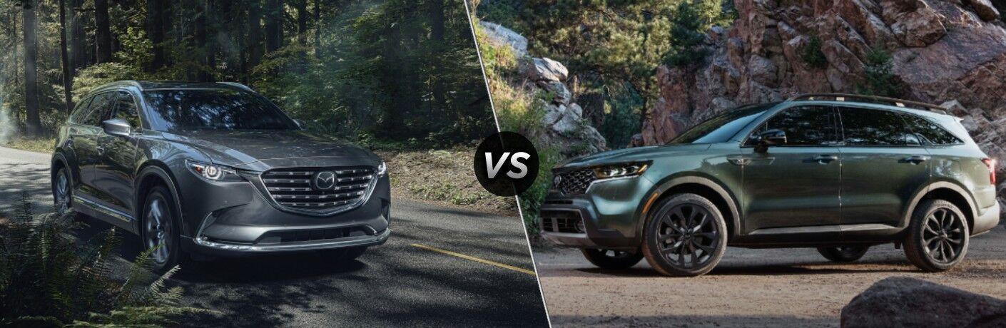 2021 Mazda CX-9 vs 2021 Kia Sorento
