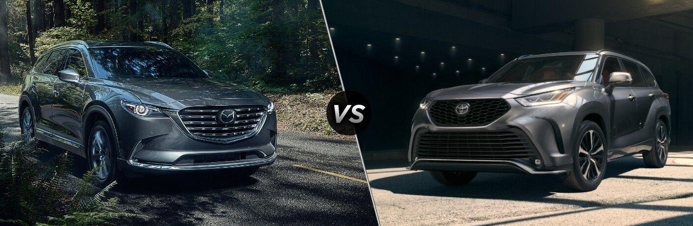 2021 Mazda CX-9 vs 2021 Toyota Highlander