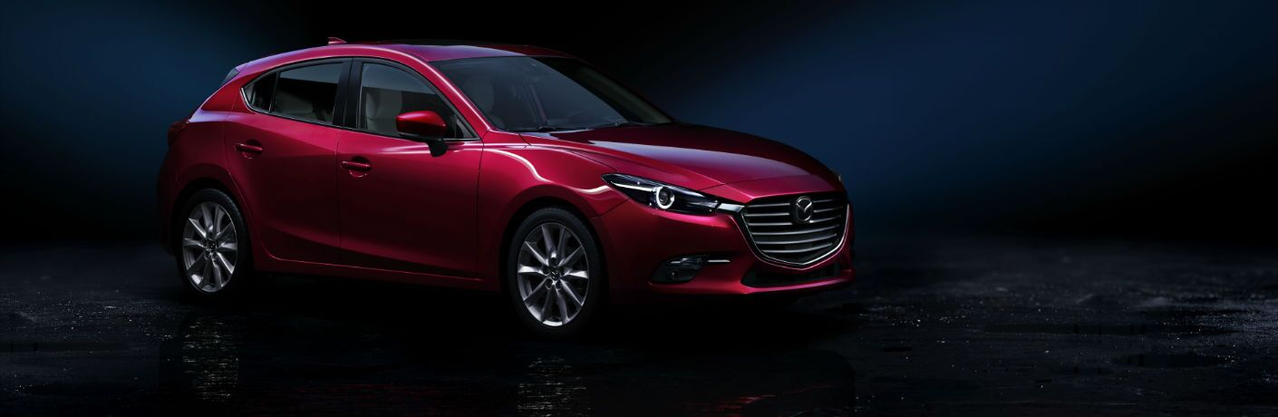2018 Mazda3 5-Door Hatchback in Red