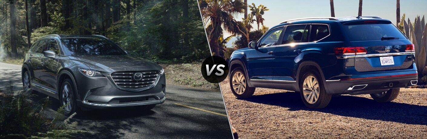 2021 Mazda CX-9 vs 2021 Volkswagen Atlas