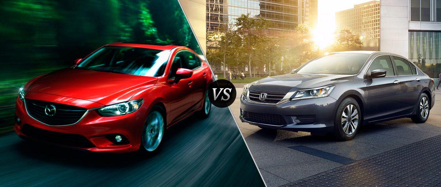 2014 Mazda6 VS 2013 Honda Accord