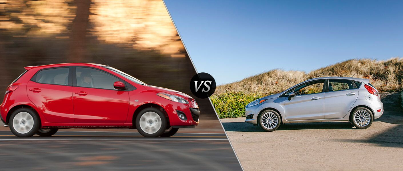 mazda2 vs. 2014 ford fiesta