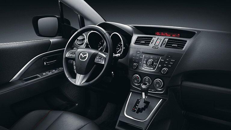 Superior 2015 Mazda 5 Interior Versatility